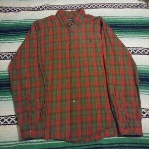 *Custom Fit* Ralph Lauren Large Plaid Shirt!